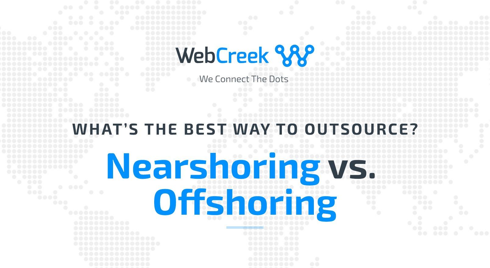 nearshoring vs offshoring