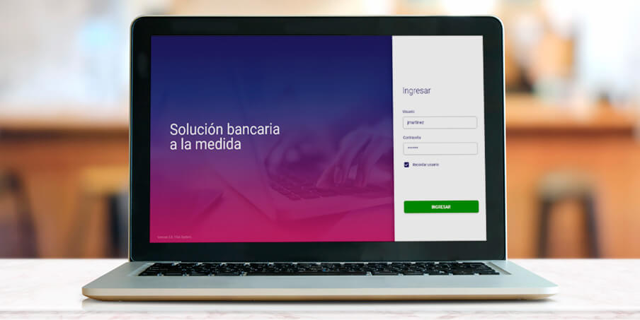 Custom banking software