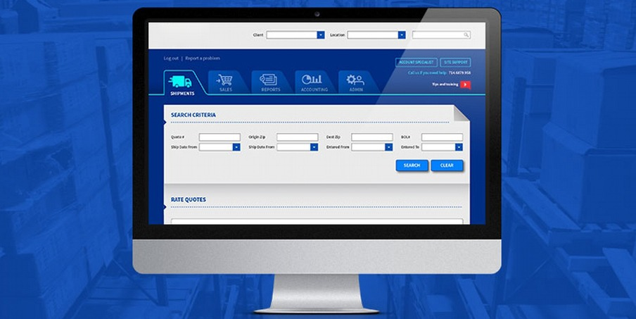 custom transportation management software