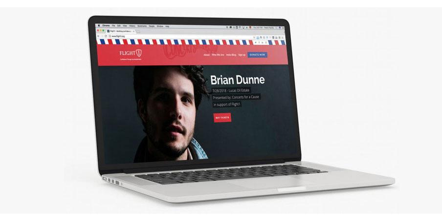 custom pro-bono website
