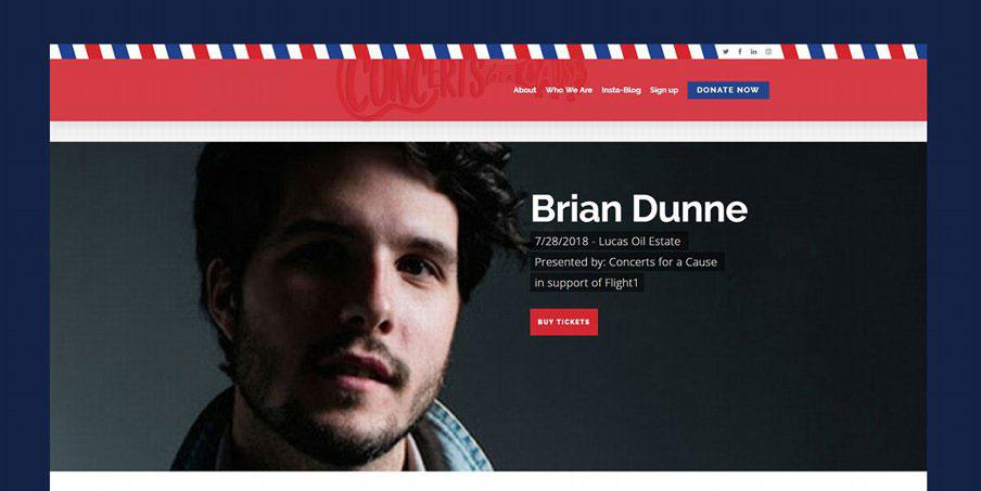 pro-bono website project