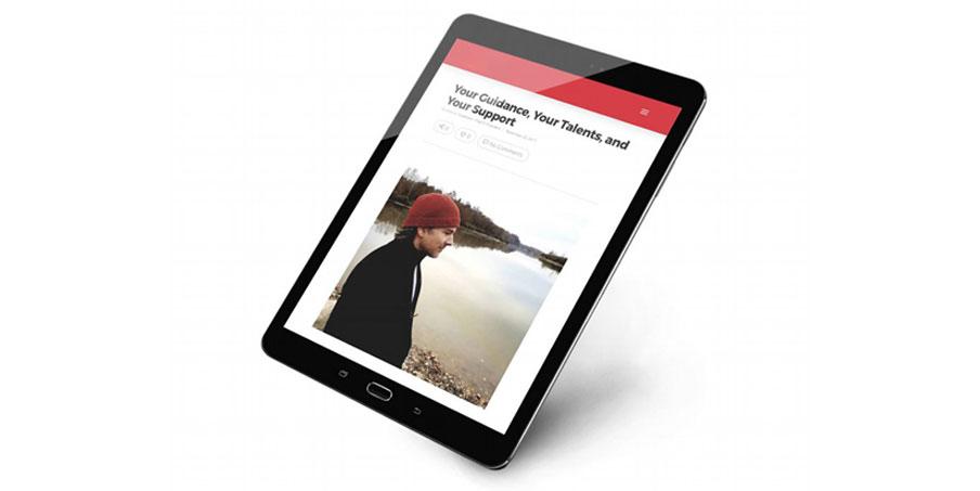 custom pro-bono website project