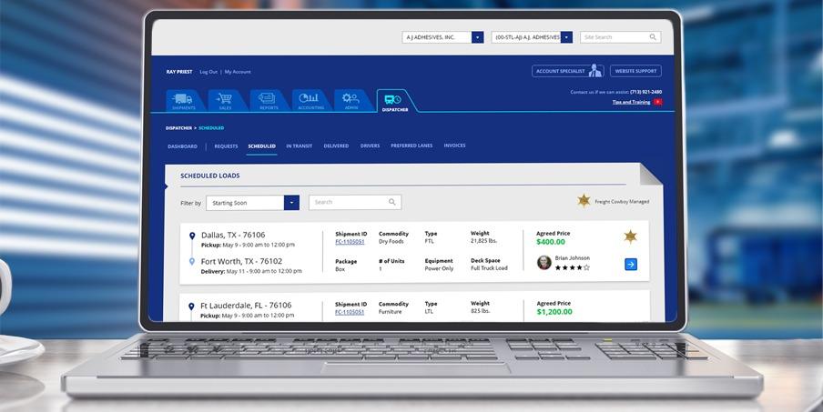 custom logistics software