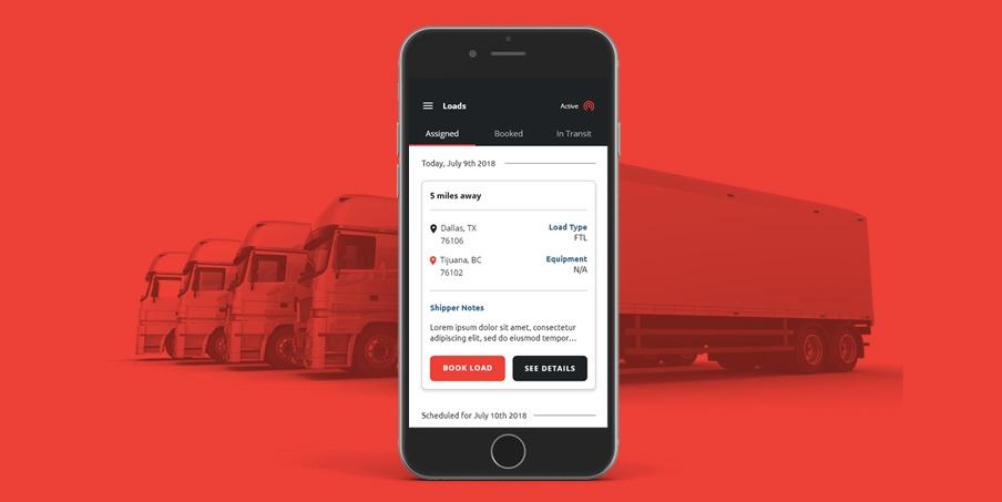logistics software app