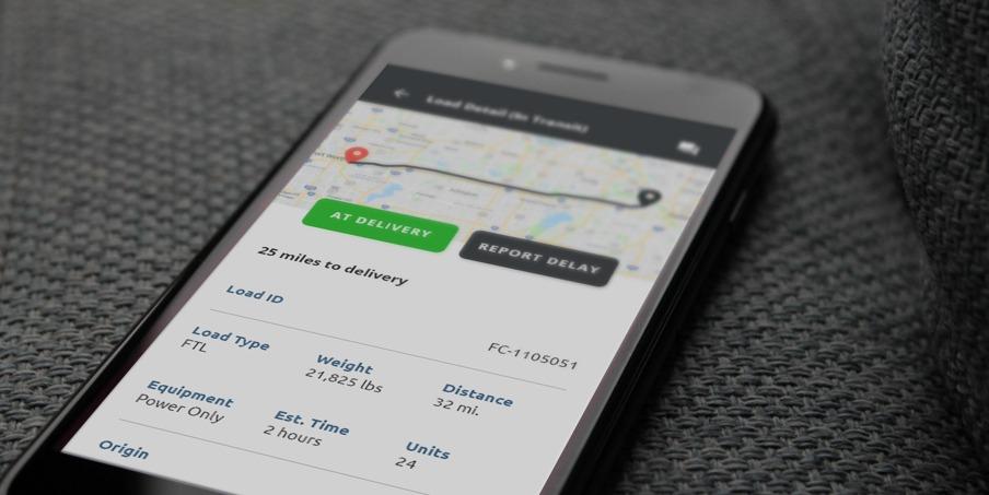 custom logistics mobile app