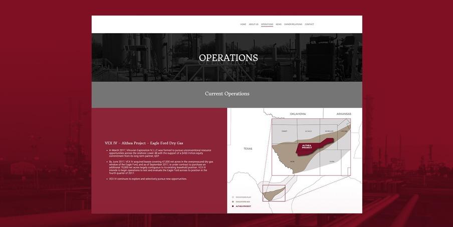 custom oilfield website