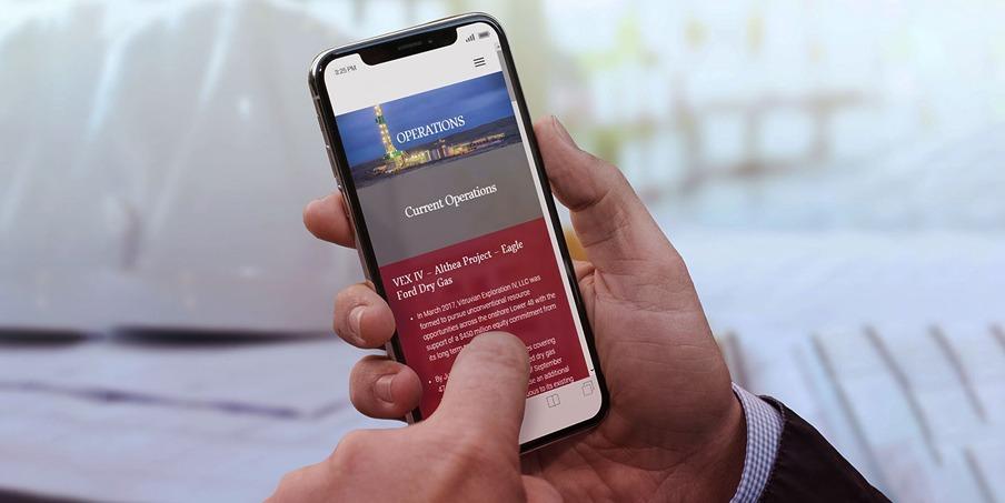 custom mobile website