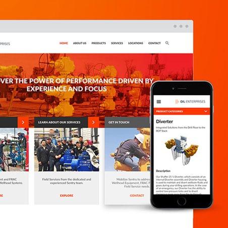 web and app development examples