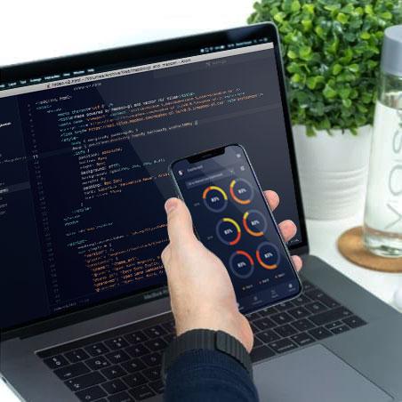 custom software development user interface example