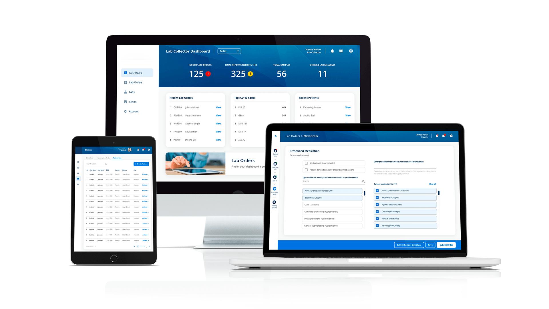 ux/ui redesign healthcare
