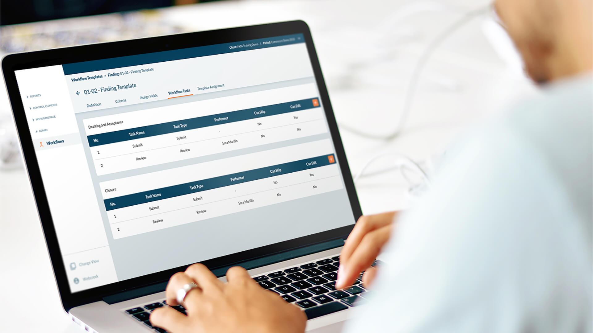 Enterprise Risk Management web app