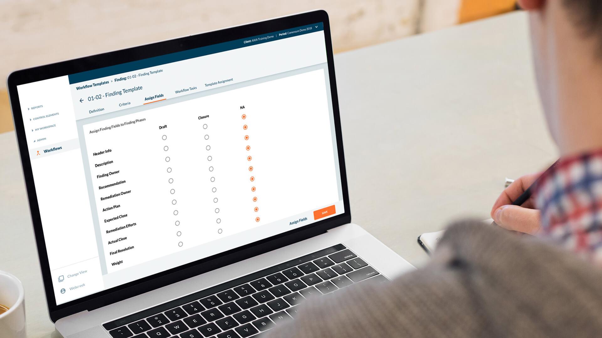 compliance web app