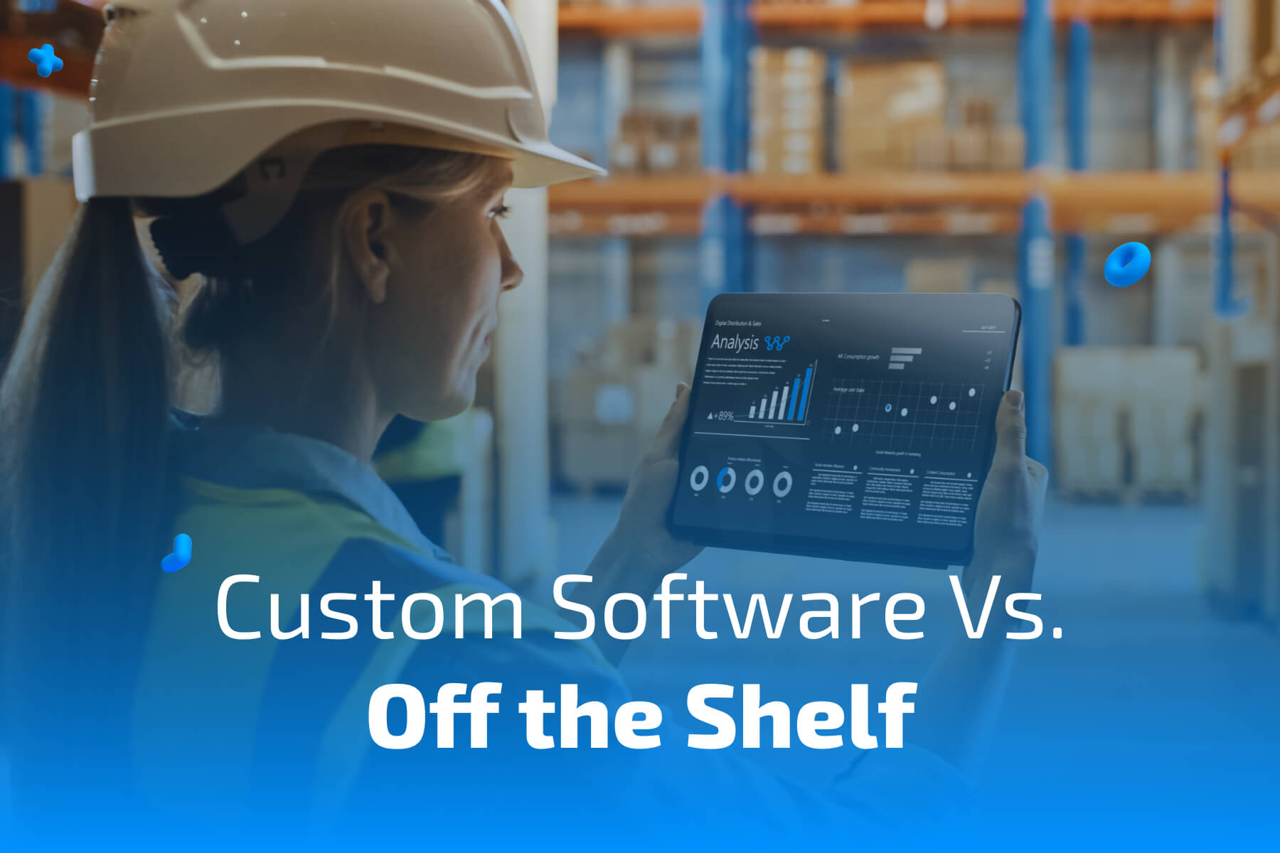 custom software vs off the shelf